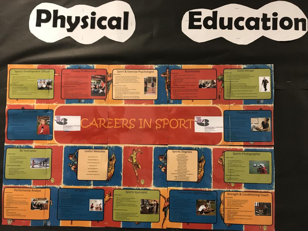PE - careers board