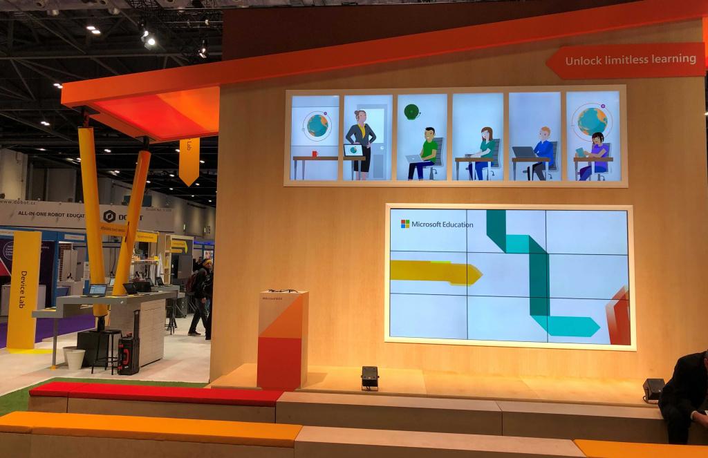 Microsoft education display