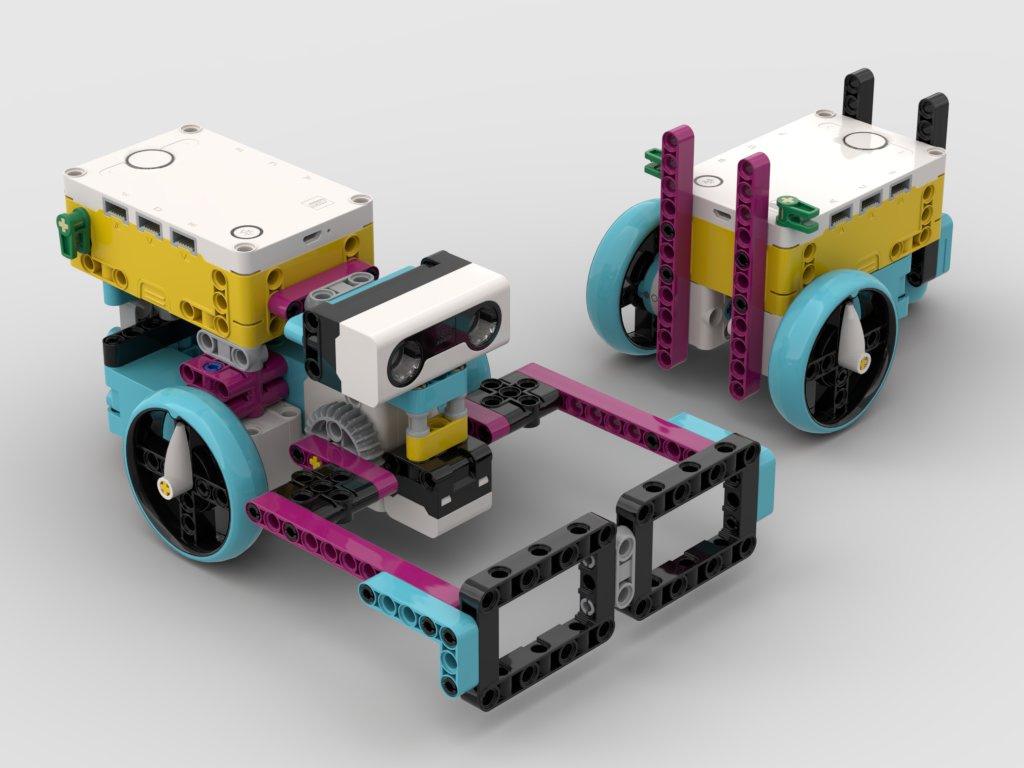 A LEGO buggy